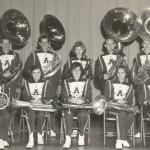 AHS band bass clarinet and horns
