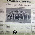 AHS band calendar 1964 top
